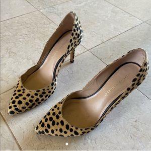 Loeffler Randall Leopard Heel Calf Hair Cheetah 8